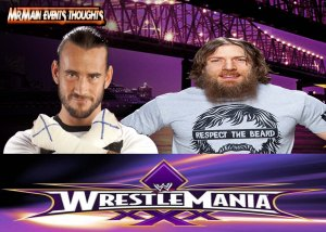CM Punk vs Daniel Bryan