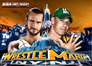 CM Punk vs John Cena
